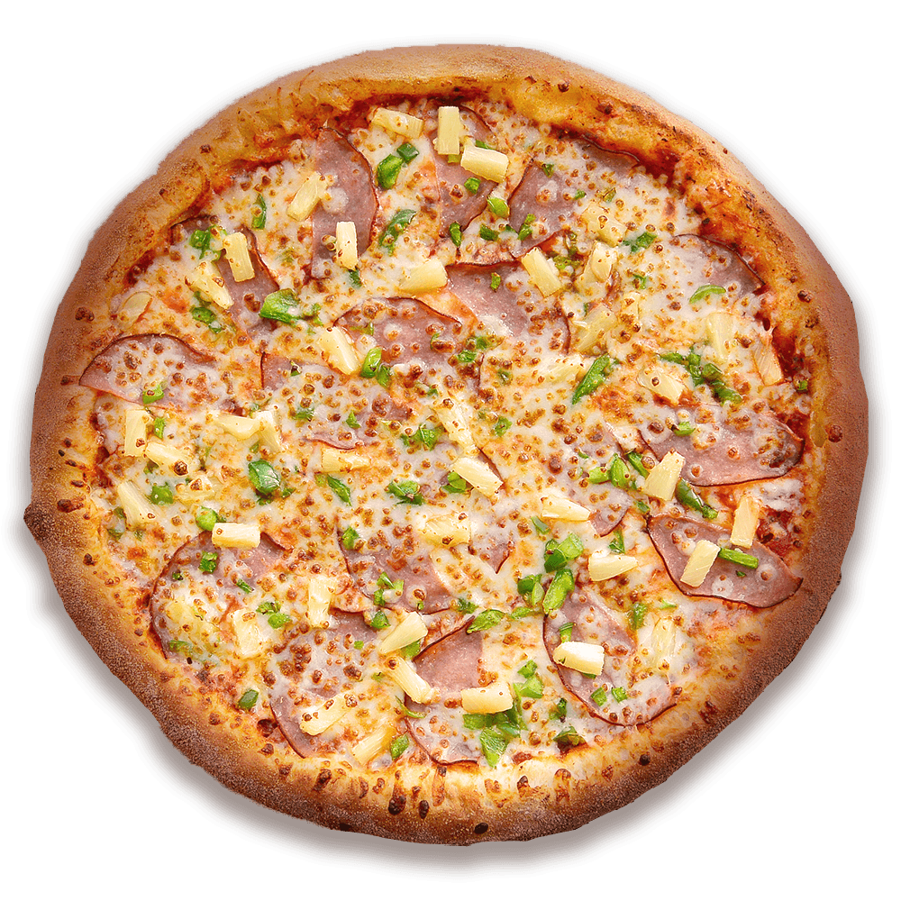 Hawaiian Pizza at Speedy's Pizza