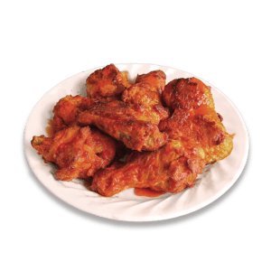 Bone- In Wings at Speedy's Pizza