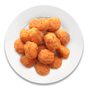 Sriracha Balls at Speedy's Pizza
