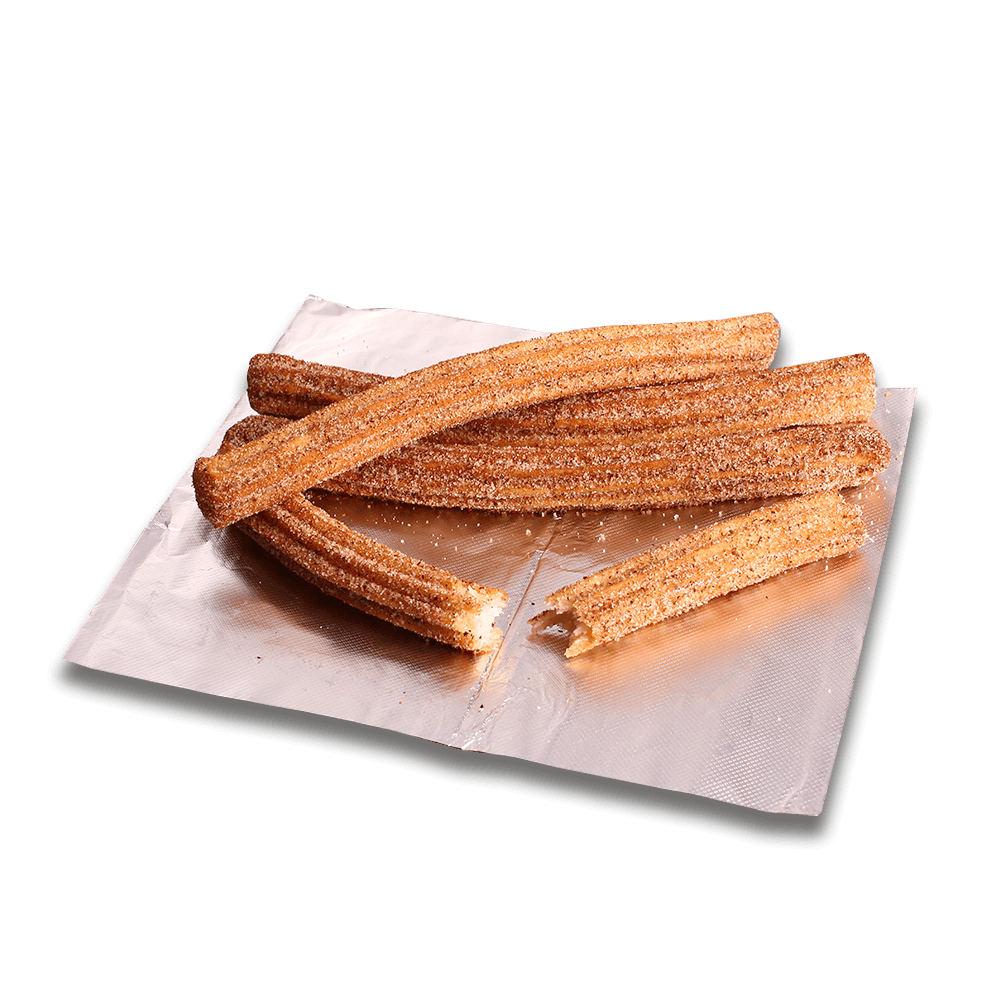 Stuffed Churros at Speedy's Pizza