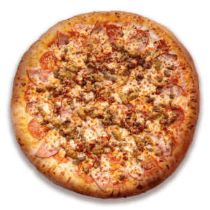 All Meat Pizza at Speedy's Pizza