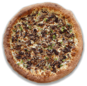 Speedys Philly Cheesesteak Pizza